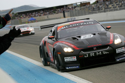 #23 JR Motorsport Nissan GT-R: Michael Krumm, Lucas Luhr takes the win