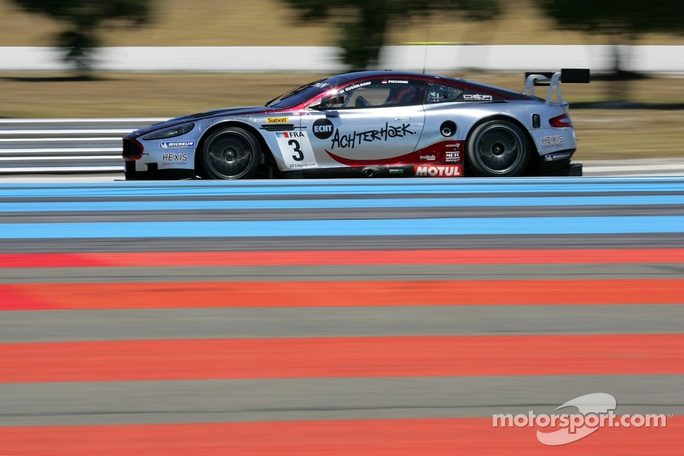 #3 Hexis AMR Aston Martin DB9: Stef Dusseidorp, Clivio Piccione