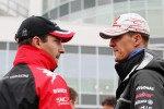 Timo Glock, Marussia Virgin Racing, Michael Schumacher, Mercedes GP F1 Team