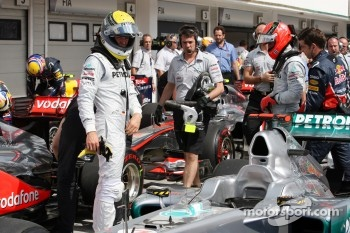Schumacher will be racing for Mercedes in 2012