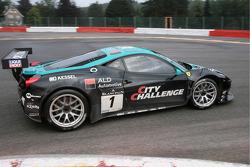 #1 Vita4One Ferrari 458 Italia: Eric van de Poele, Nico Verdonck, Jean-Karl Vernay