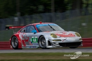 #44 Flying Lizard Motorsports Porsche 911 GT3 RSR: Darren Law, Seth Neiman