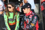 Danica Patrick, Andretti Autosport and Marco Andretti, Andretti Autosport