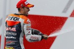 Podium: second place Andrea Dovizioso, Repsol Honda Team