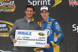 Brad Keselowski, Mahle Clevite Engine Builder of the Race Award