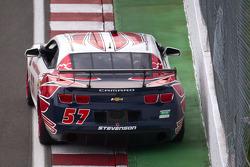 #57 Stevenson Motorsports Camaro GT.R: Robin Liddell, Ronnie Bremer
