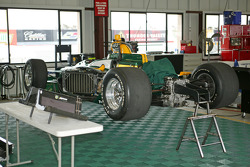 KV Racing Technology-Lotus paddock area