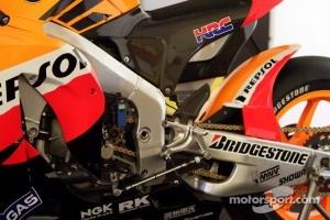 Repsol Honda Team pit area