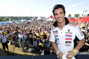 Toni Elias, LCR Honda MotoGP at the autograph session