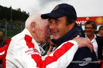 John Surtees and Nigel Mansell