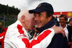 John Surtees and Nigel Mansell