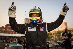 Race winner Steven Kane celebrates