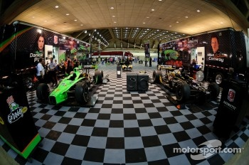 Andretti Autosport paddock