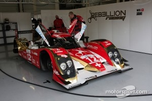 #12 Rebellion Racing Lola B10/60 Coupe Toyota: Nicolas Prost, Neel Jani