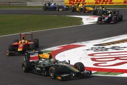 Esteban Gutierrez leads Dani Clos