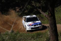 Brendan Reeves and Rhianon Smyth, Subaru Impreza WRX