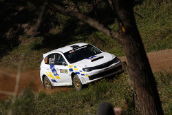 Gianluca Linari and Nicola Arena, Subaru Impreza WRX