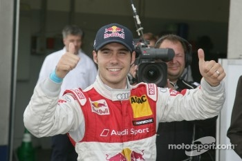 Pole winner Miguel Molina, Audi Sport Team Abt Junior, Audi A4 DTM