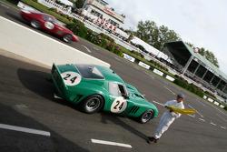 Race TT practice: Bamford-De Cadenet, Ferrari 250 Gto