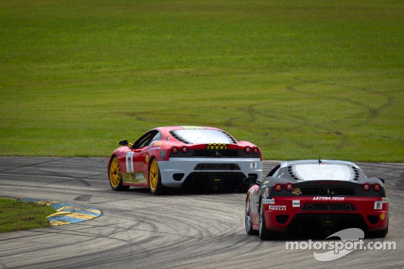 #11 Ferrari of Ft. Lauderdale Ferrari F430 Challenge: Tim Rosner, #91 Ferrari of Ft. Lauderdale Ferrari F430 Challenge: Guy Leclerc