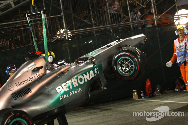 Michael Schumacher: Grand Prix von Singapur 2011 in Singapur
