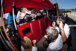 Genoa Racing pit area