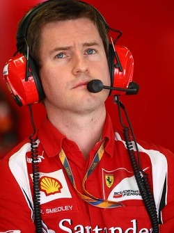 Rob Smedly,, Scuderia Ferrari, Chief Engineer of Felipe Massa (BRA)