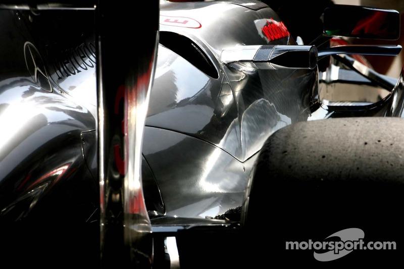 McLaren Mercedes Technical detail