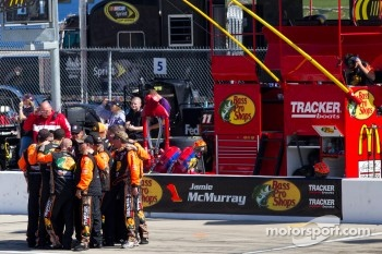 Crew for Jamie McMurray, Earnhardt Ganassi Racing Chevrolet