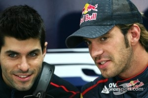 Jaime Alguersuari and Jean-Eric Vergne