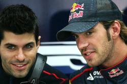 Jaime Alguersuari, Scuderia Toro Rosso and Jean-Eric Vergne, Test Driver, Scuderia Toro Rosso