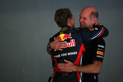 Sebastian Vettel, Red Bull Racing, Adrian Newey, Red Bull Racing, Technical Operations Director