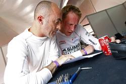 David Brabham and Jamie Campbell-Walter