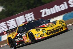 #50 Larbre Competition Corvette C6-ZR1: Patrick Bornhauser, Julien Canal, Olivier Beretta