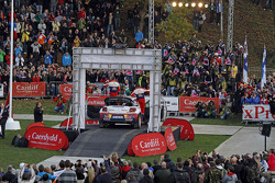 Sébastien Loeb and Daniel Elena, Citroën DS3 WRC, Citroën Total World Rally Team celebrate 8 WRC championships