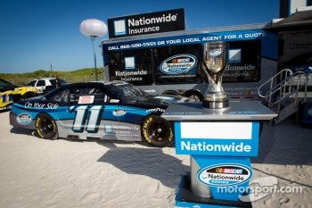 NASCAR Championship Drive in South Beach: the Nationwide Cup on display