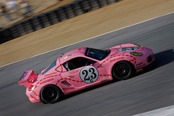 Mark Gold 2011 Pink Pig Porsche Cayman Interseries