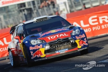 Sébastien Loeb and Severine Loeb