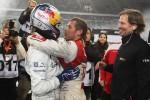 Winner Sbastien Ogier and Tom Kristensen