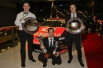 Craig Lowndes, Jamie Whincup and Andrew Thompson, Fujitsu Series champion