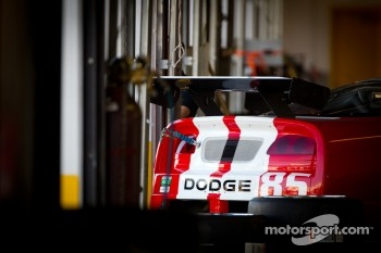 #85 Racers Edge Motorsports Dodge Viper in the garage