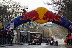 Mark Webber and Sebastian Vettel, Red Bull Racing