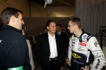 Eric Besson, French Industry Minister, with Sbastien Bourdais