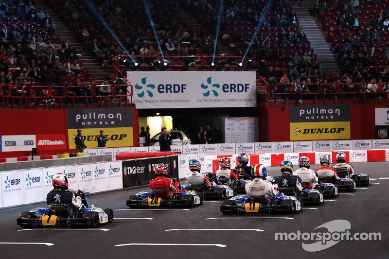 Race start atmosphere