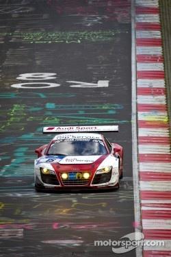 #15 Audi Sport Team Phoenix Audi R8LMS: Frank Stippler, Marc Hennerici, Christopher Haase, Markus Winkelhock