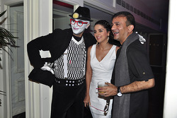 Fashion designer Prasad Bidapa and TV personality Shruti Seth