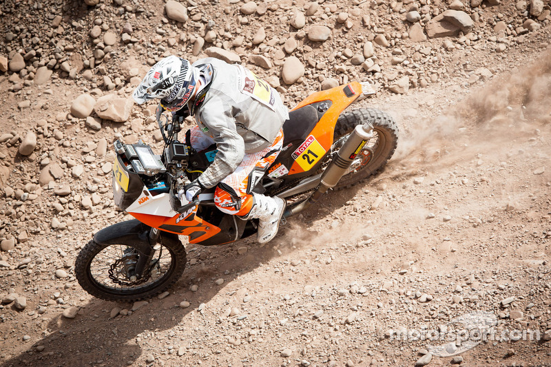#21 KTM: Johnny Aubert
