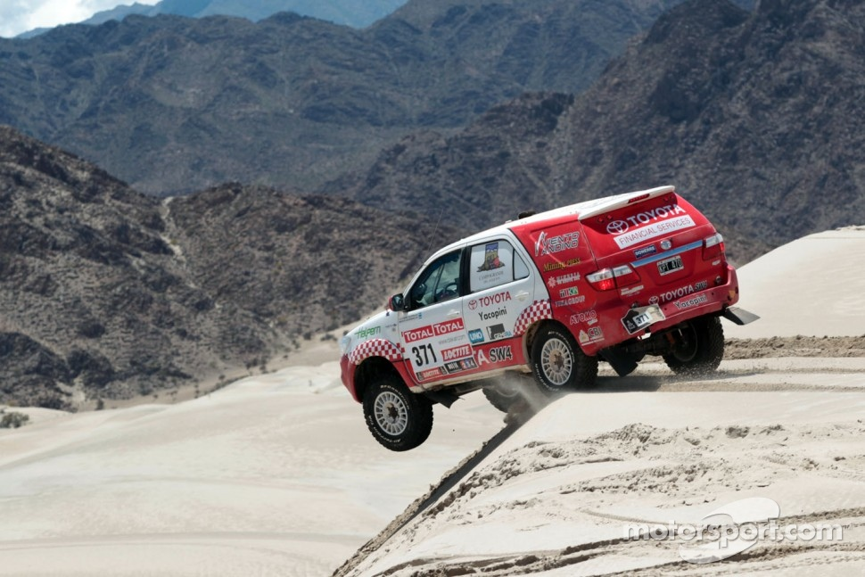#371 Toyota: Alejandro Miguel Yacopini and Marco Scopinaro