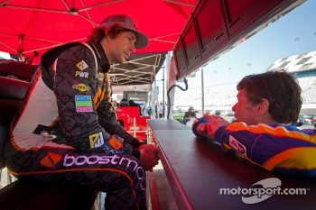 Travis Pastrana and Michael Waltrip