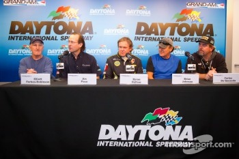 50+Predator/Alegra press conference: Elliott Forbes-Robinson, Jim Pace, Byron Defoor, Brian Johnson and Carlos de Quesada